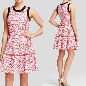 Kate Spade Floral Jacquard Dress L
